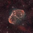 NGC 6888 - The Crescent Nebula,                                AstroDinsk