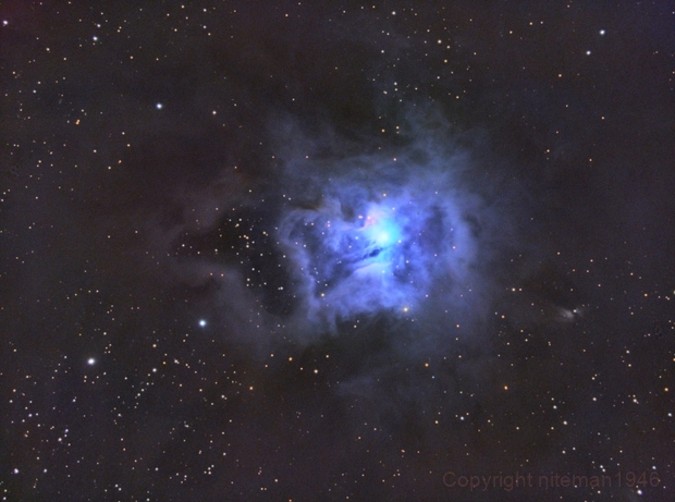 NGC7023 The Iris Nebula,                                niteman1946