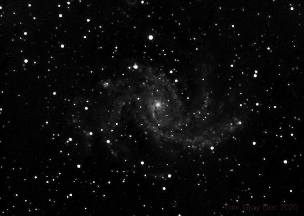 NGC 6946 - New Year without fireworks,                                Tom Gray