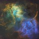 Sh2-132 Lion Nebula SHO,                                Randy Lindstrom