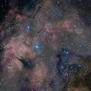 Ic1318 Nebula - H.RGB,                                Emilio Zandarin