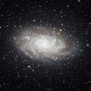M33 Galaxy,                                Ou Mingzhi