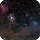 Horsehead and Flame Nebula to Witch Head,                                Michael Finan