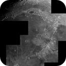 Mare Imbrium Mountains, 81% waxing moon,                                turfpit