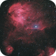 Running Chicken Nebula (IC2944) in HaRGB,                                Eduardo Oliveira