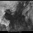 NGC 7000 & IC 5070 (North America Nebula & The Pelican Nebula,                                Mike Oates