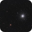 M3 cluster in town with CLS-CCD,                                Jocelyn Podmilsak