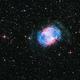 M27 - Dumbell planetary nebula,                                PiPais