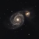 M51 - Whirlpool Galaxy,                                Malte Koch