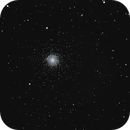 M13 and  NGC 6207  in Hercules,                                RonAdams