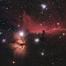 Flame and Horsehead Nebula,                                pade