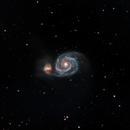 M51 - Whirlpool Galaxy,                                francopanetta