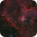 Heart Nebula with DSLR,                                AstroTanja