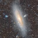Andromeda Galaxy [Ultra-deep version 2020],                                Giuseppe Donatiello