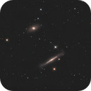 NGC4762 and NGC4754 LRGB,                                Christopher Gomez