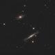 NGC4762 and NGC4754 LRGB,                                Christopher Gomez