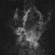 Sh 2-157 - Lobster Claw nebula Ha only,                                Dagolaf