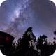 Milky Way on the Andes,                                Yves-André