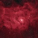 M8 Lagoon Nebula in Ha,                                equinoxx