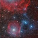 SH2-1 and Sh2-7 Reflection and Emission nebula,                                oldwexi