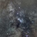 Voie Lactée dans le sagitaire,                                caraibe79lg