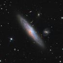 NGC 1515, galaxy in Dorado,                                José Joaquín Pérez