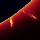First light: Ha Solar Spectrum,                                Ruediger