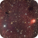 NGC 7538 in Cassiopeia,                                Nurinniska
