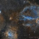 Mosaic NGC7635+NGC7538+NGC7510 in narrowband,                                jijc76