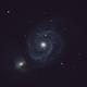 The Whirlpool Galaxy (Messier 51),                                astromaverick