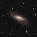 Messier 106,                                Marcel Nowaczyk