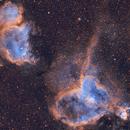Heart and soul nebula,                                Chris