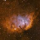 Cyg Impression [Sh2-101] - The Tulip Nebula in SHO,                                G400