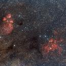 NGC6334 and NGC6357 Widefield,                                Djt