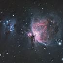 Messier 42 & Sh2-279 (Orion Nebula & Running Man Nebula),                                Stuart Ansell