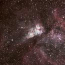 Eta Carinae using ED102 & 800D,                                KiwiAstro