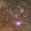 Milky Way center in the Constellation Sagittarius,                                Angelo Mohorovic