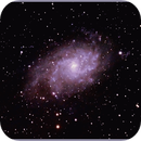Messier 33 or M33 or  Triangulum Galaxy ,                                Stephen Harris