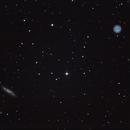 M108 Surfboard Galaxy & M97 Owl Nebula,                                Amra