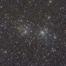 Meadows of Heaven ( The Double Cluster, NGC 869, NGC 884 ),                                Reza Hakimi