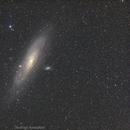 Andromeda (M31) with 200mm Lens,                                Rodrigo Andolfato