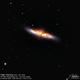 Cigar Galaxy (M 82),                                Godfried