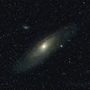 M31 Andromeda Galaxy (wider field),                                Serge Caballero