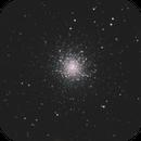 M13 Globular Cluster in Hercules,                                astropleiades