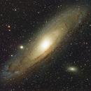Galaxie d'Andromède (M31) Andromeda (Haute résolution),                                Denis Bergeron