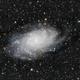 Galaxie du Triangle (M33),                                Moot