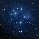 M45 Pleiades Seven Sisters ES ED80 480mm FL ASI1600MC-C,                                steven_usa