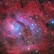 Messier 8 - The Lagoon Nebula,                                Salvatore Grasso