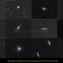 NGC 7006. M61. NGC 2903. NGC 3953. NGC 4088 & NGC 4085. M106. NGC 891. M15. Arp 84. M10. M65 & M66. NGC 5005. ,                                FranckIM06