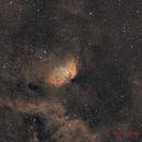 Tulip nebula Sh2-101 ( SHO ),                                Benoit Gagnon